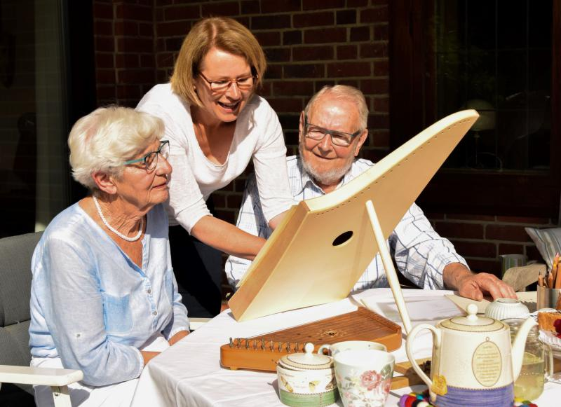 Musik für Senioren   Ute Hansen